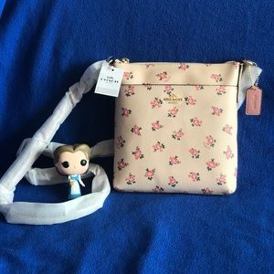 COACH Messenger Crossbody Floral Bloom Print